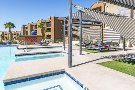 Swimming Pool | Chandler Arizona Apartments for Rent | The Cooper 202