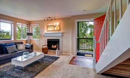 Luxurious Living Room | Renton Luxury Apartments | Montclair Heights