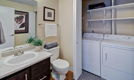 Spacious Master Bathroom | Apartments For Rent In Renton Washington | Montclair Heights