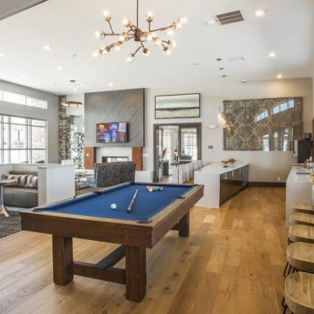 Community Game Room | Thornton Apartments | Parkhouse
