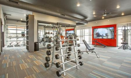 Cutting Edge Fitness Center | Apartments Thornton CO | Parkhouse