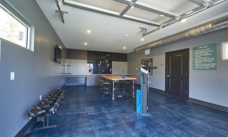 Resident Pool Table | Apartments In Thornton | Parkhouse
