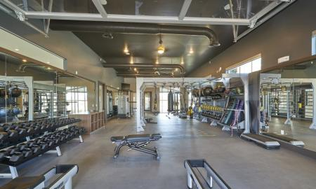 On-site Fitness Center | Thornton Apartments | Parkhouse 1