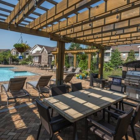Community BBQ Grills   Apartments In Prattville   Meadows at HomePlace