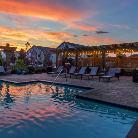 Resort Style Pool   Luxury Apartments In Prattville Alabama   Meadows at HomePlace
