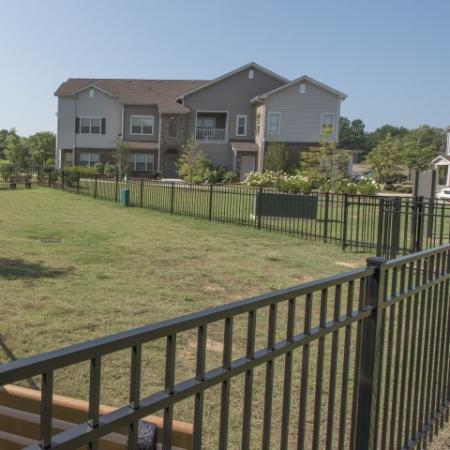Community Bark Park   Luxury Apartments In Prattville Alabama   Meadows at HomePlace