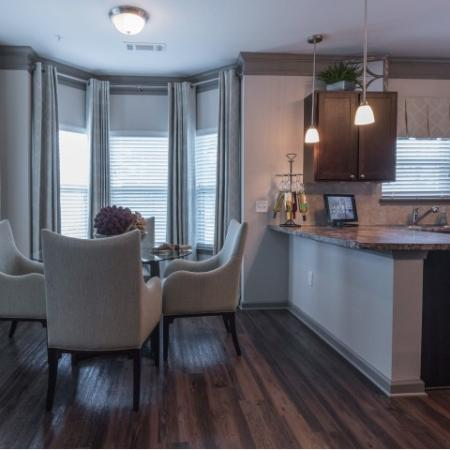 Spacious Dining Room   Luxury Apartments In Prattville Alabama   Meadows at HomePlace
