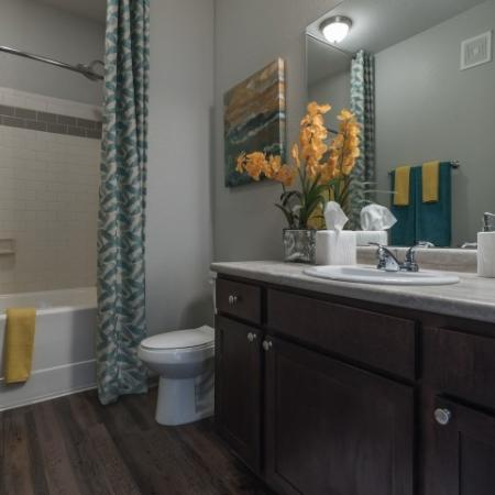 Spacious Bathroom   Apartments In Prattville   Meadows at HomePlace