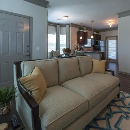 Spacious Living Room   Luxury Apartments In Prattville Alabama   Meadows at HomePlace