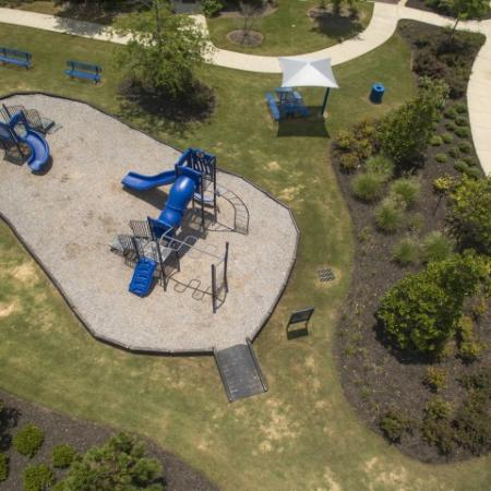 Community Children's Playground   Prattville AL Luxury Apartments   Meadows at HomePlace