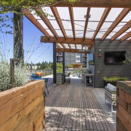 Resident BBQ | Apartments For Rent In Bellevue Washington | LIV