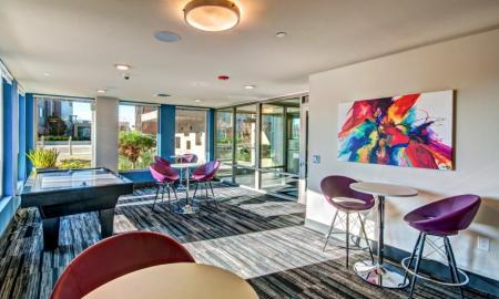 Community Game Room | Bellevue Apartments | LIV