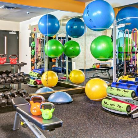 State-of-the-Art Fitness Center | Bellevue WA Apartments | LIV