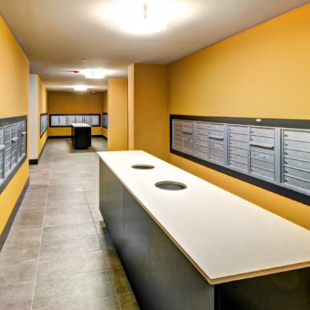 Resident Mail Room | Apartments For Rent In Bellevue Washington | LIV