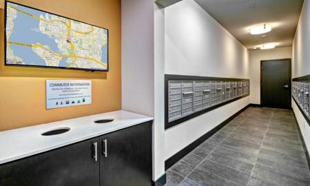 Mail Room | Bellevue Washington Apartments | LIV