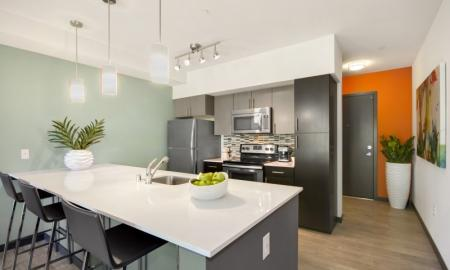 Spacious Kitchen | Bellevue Apartments | LIV