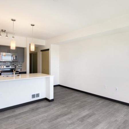 Residents Lounging in the Living Area | Bellevue WA Apartments | LIV