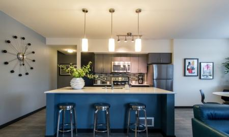 State-of-the-Art Kitchen | Apartments Bellevue WA | LIV