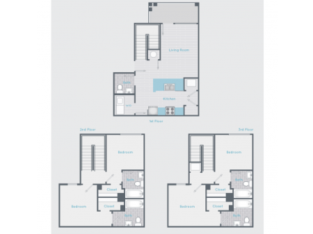 4 x 4 Townhome