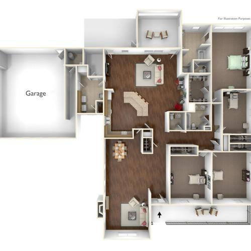Laurel Bay Housing Manchester Floor Plan