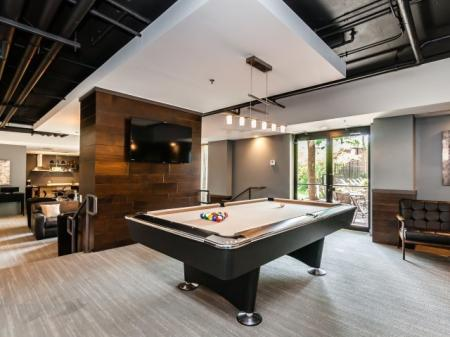 Resident Game Room | Apartments in Arlington Heights, IL | Hancock Square at Arlington Station