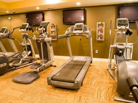 Stay fit with the fitness center