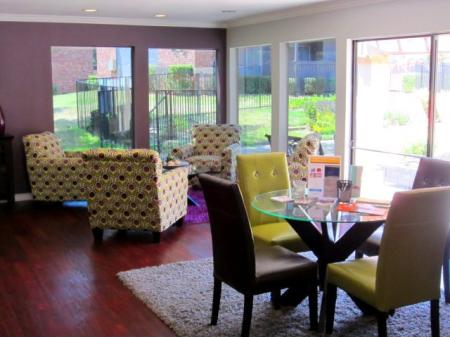 Play games and relax in the clubhouse