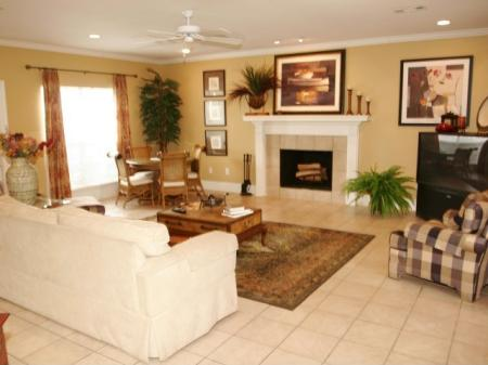 Large Living Rooms with Fireplaces