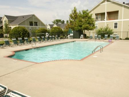 Resort Style Pool - Twin Oaks Apartments