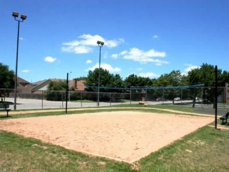 Sand Volleyball Court for residents