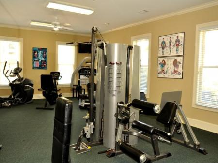 Fully equiped fitness center