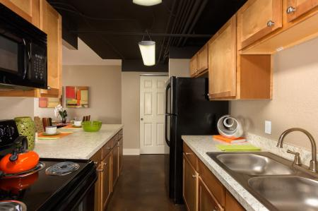 The Capitol on 28th Apartment Kitchen interior