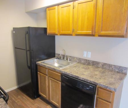 Fully upgraded kitchens at Hickory Grove