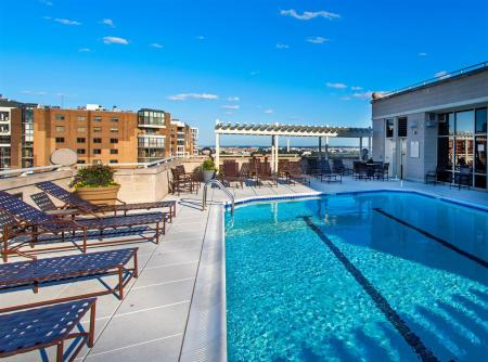 Rooftop Pool with Sundeck