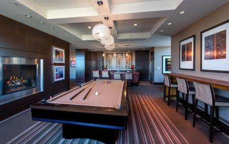 Top Floor Clubroom with Billiards