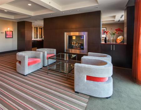 Cozy Fireplace in the Clubroom