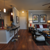 Kingwood apartments for rent living room at kitchen