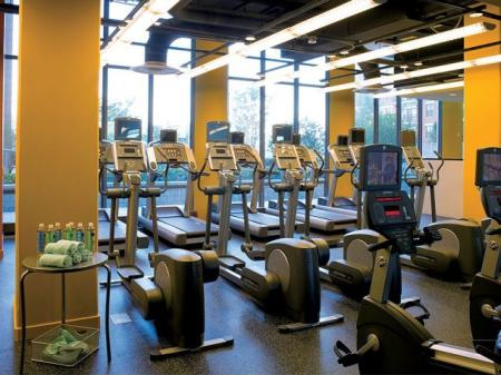 Luxury Fitness Center | Sky55 apartments at Central Station