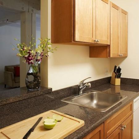 Kitchen, Apartments in Cambridge | KBL Apartments