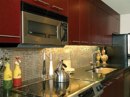 Kitchen Detail | Lofts in Cambridge MA
