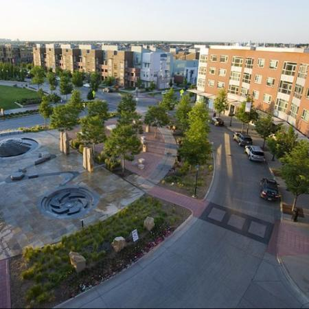 Another exterior shot of our luxury Denver apartments at Botanica Town Center