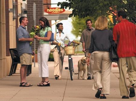 Enjoy local shopping around the corner from our apartments in Denver at Botanica Town Center