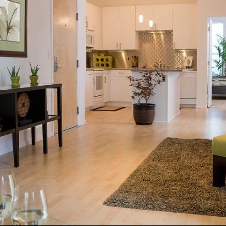 Spacious living spaces in each of our luxury Denver apartments at Botanica Town Center