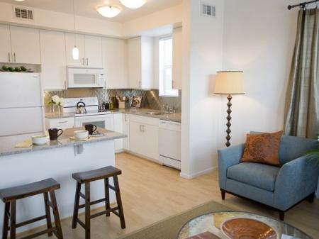 Connected design gives you the space you need in our Denver apartments at Botanica Town Center