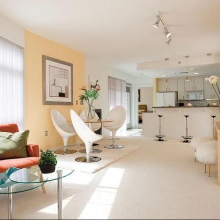 Luxury Apartments in Denver CO | Living Room