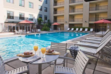 Luxury Amenities: Pool Area | The Uptown