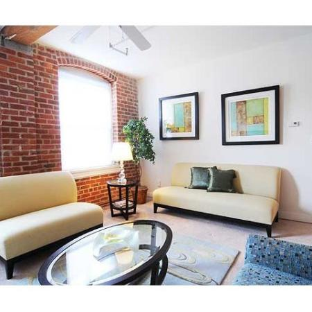 Well lit rooms encompass our Richmond VA apartments for rent at Cameron Kinney