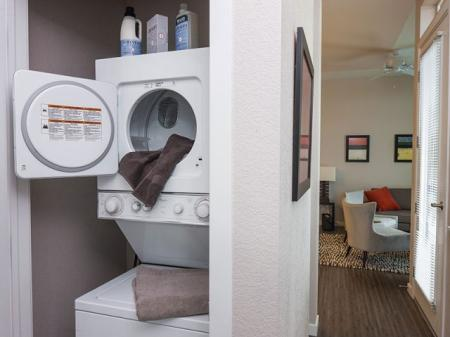 Denver Colorado Luxury Apartments | In-Suite Washer and Dry Hook