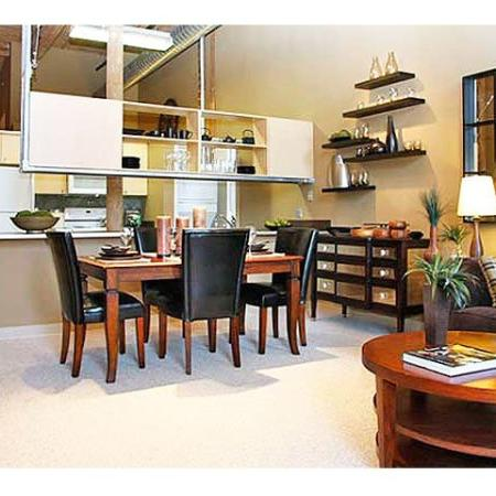 Cumberland Apartments | Spacious living spaces at the River Lofts