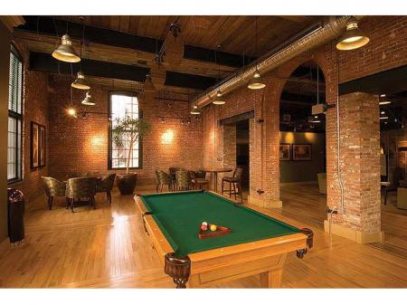 Resident Club Room | The River Lofts | Cumberland Apartments